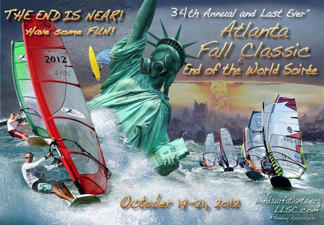 2012 Fall Classic. Oct. 19-21, 2012 Lake Lanier Sailng Club and the Atlanta Boardsailing Club