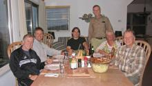 1 Randy, Gene, Alain, Barrett & Peggy, Ted at Nags Head