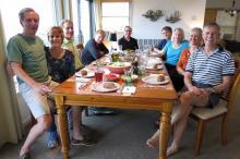 1 Week 1 Mel & Alice, Jim, Randy, Joe, Allen & Suzanne, Peggy & Barrett