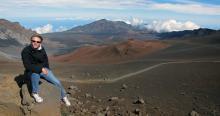 Evan, Haleakala Volcano Crater