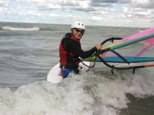 13 Jim is experienced getting through Lake Erie surf
