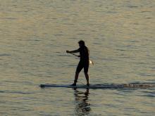 14 Alain paddle boarding