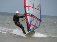 14 Randy enjoying steady winds