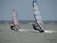 16 Randy & Marcel cruising