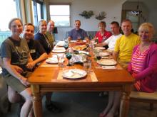 17 Week 3, Roxanna & Marcel, Betsey & Philip, Mel & Alice, Eric, Barrett & Peggy