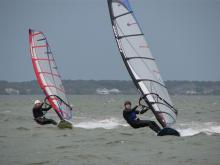 17 Randy & Marcel cruising