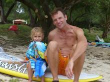 18 Evan with son Enzio