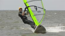 25 Adam improving sailing skills