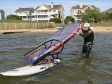 8 Randy launching from beach