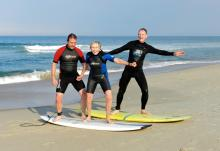 DSCN0127 Eric, Lu & Barrett surfing, photo by Mel.jpg