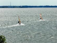 DSCN0148 Eric & Barrett windsurfing Roanoke Sound.jpg