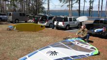 Bill Austin rigging, Van Pugh Park, Lake Lanier