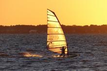 Randy sunset sail