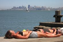 Sausalito Sunbathers
