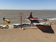 Windsurfing Launch
