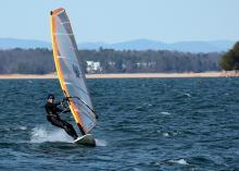 Barrett, 6.0m sail.  Photo by Alan.