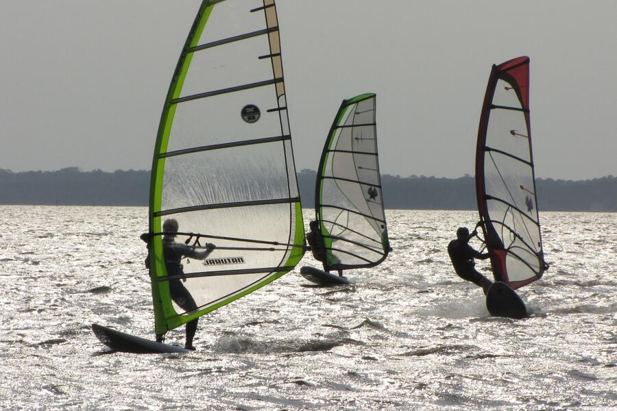 27 Perfect day sailing Roanoke Sound
