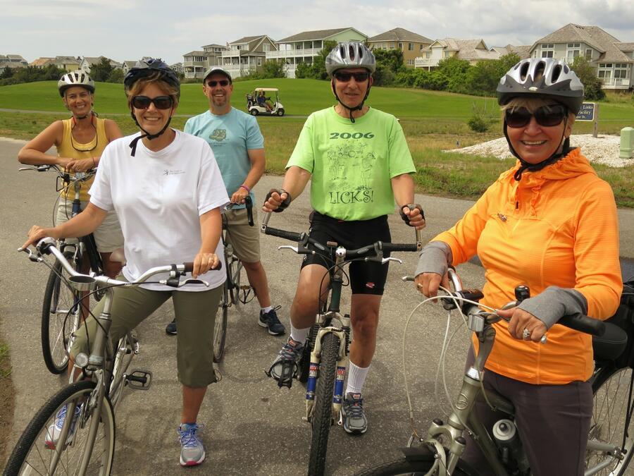 30 Biking to Jockey's Ridge
