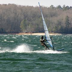 1 Big Blow Feb. 16, Gene at Lake Lanier
