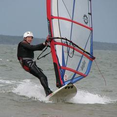 14 Randy enjoying steady winds