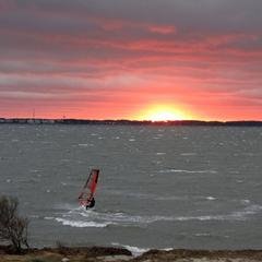 5 Alain sailing till sunset 30 G 40 mph