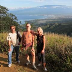 Hiking Waihee Ridge Trail