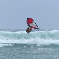 9 Evan jumping surf