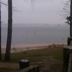 Cool,gloomy day - Jan 22,2012