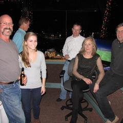 Dan & Mariah Burch, Verdery Trimmer & Chris Voith
