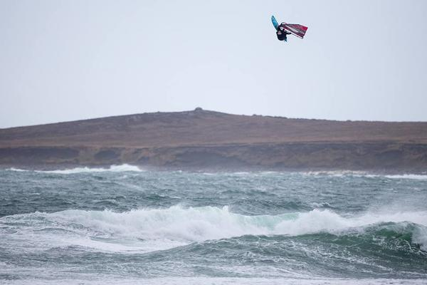 Phillip Koester at Red Bull Storm Chase Ireland