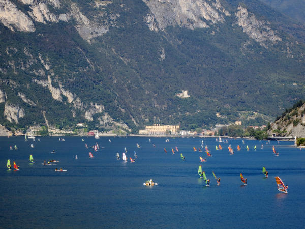 Lake Garda windsurfing